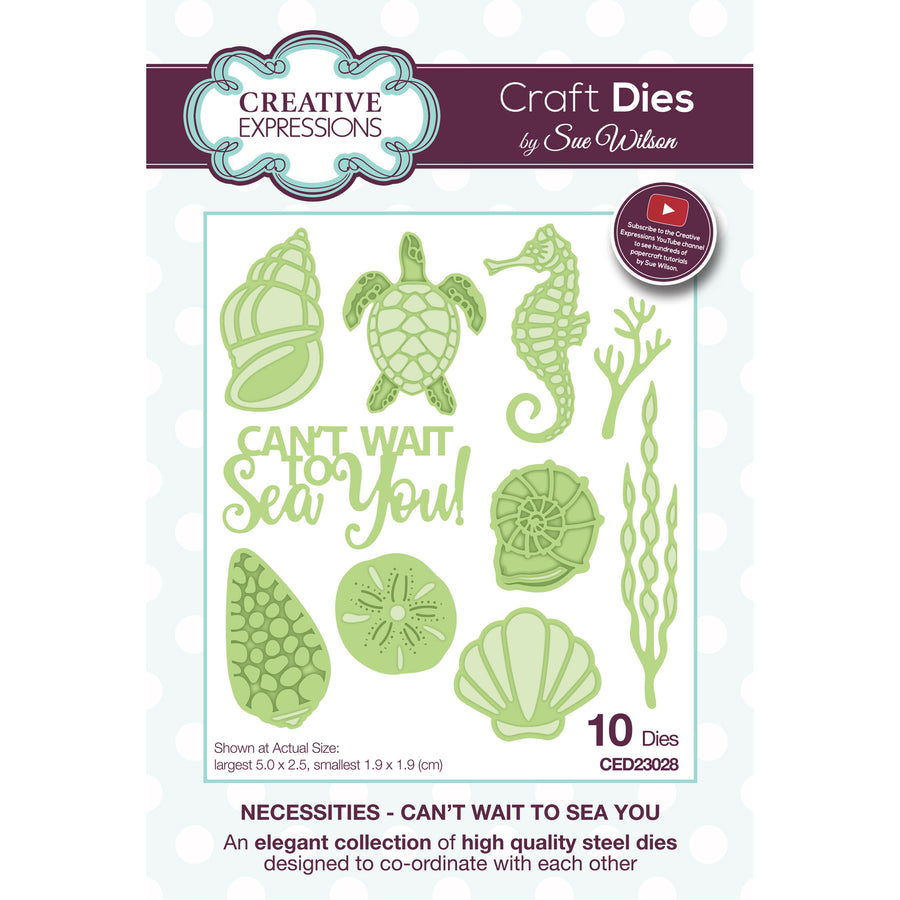 Sue Wilson Dies - Necessities - Can't Wait to Sea You - CED23028