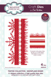 Sue Wilson Dies - Festive Collection - Snowflake Edger - CED3107