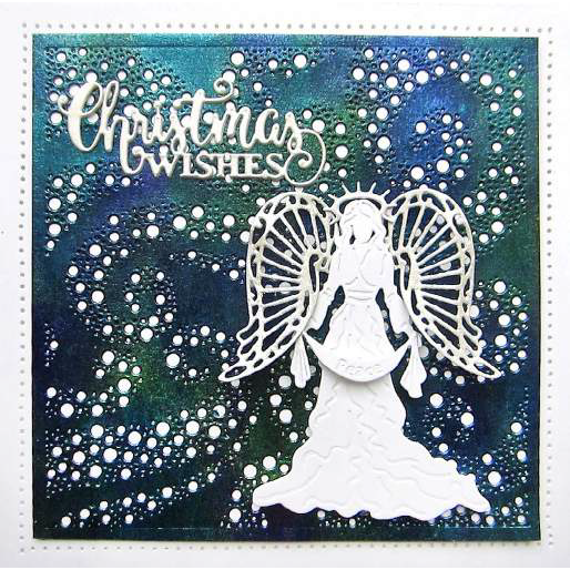 Sue Wilson Dies - Festive Collection -  Stardust Background Craft Die - CED3190