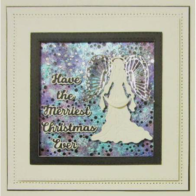 Sue Wilson Dies - Festive Collection -  Christmas Angel 2019 Craft Die - CED3169