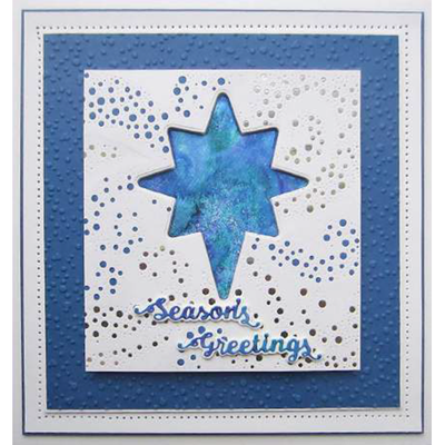 Sue Wilson Dies - Festive Collection -  Star Of Wonder Triple Layering die - CED3170