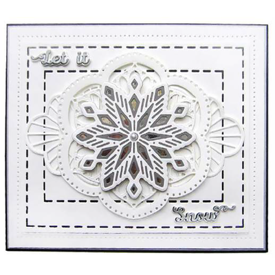 Sue Wilson Dies - Festive Collection -  Imogen Triple Layering die - CED3171