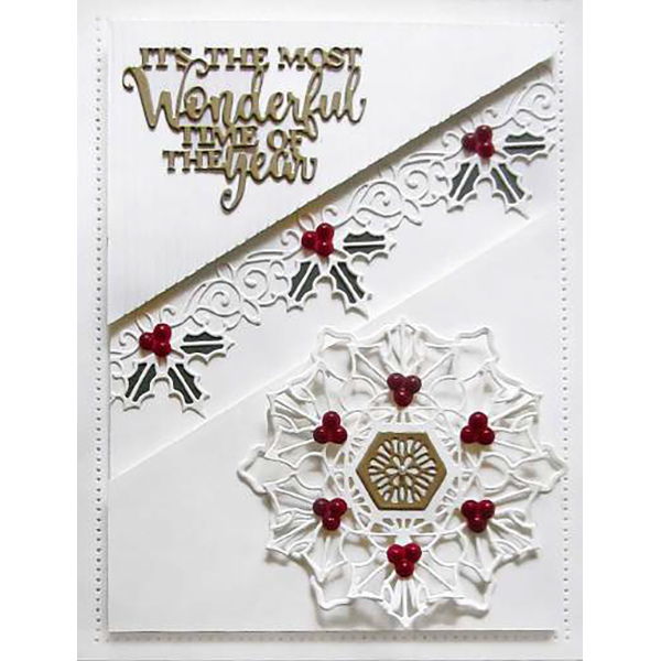 Sue Wilson Dies - Festive Collection -  Hayley Craft Die - CED3183