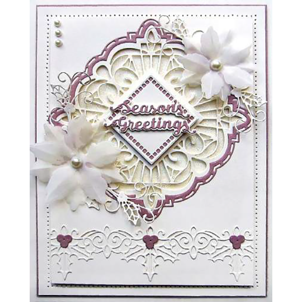 Sue Wilson Dies - Festive Collection -  Felicity Craft Die - CED3187