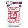 Sue Wilson Dies - Festive Collection - Merry & Bright - CED3202