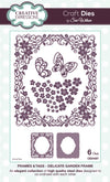 Craft Dies by Sue Wilson - Frames & Tags Collection - Delicate Garden Frame (CED4307)