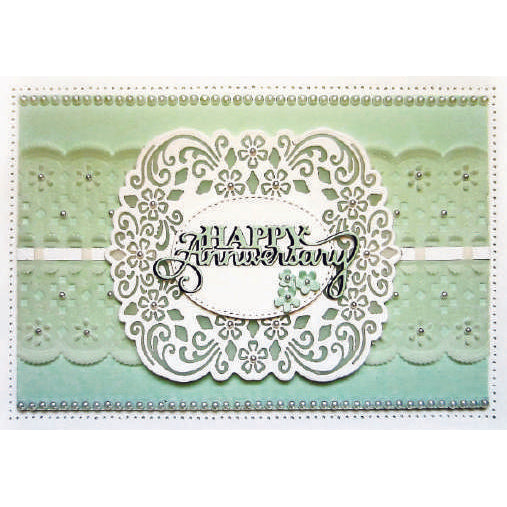 Sue Wilson Dies - Filigree Artistry Collection Scalloped Border - CED2003