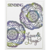 Sue Wilson Dies - Mini Expressions Collection - Love & Hugs - CEDME048
