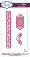Craft Dies by Sue Wilson - Caribbean Island Collection - Corner; Border & Tag (CED5202)