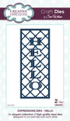 Craft Dies by Sue Wilson - Expressions Collection - Hello (CED5401)