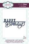 Craft Dies by Sue Wilson - Expressions Collection - Happy Birthday (CED5406)