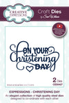 Craft Dies by Sue Wilson - Expressions Collection - Christening Day (CED5427)