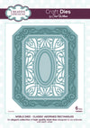 Craft Dies by Sue Wilson - Noble Collection - Classic Adorned Rectangles (CED5501)