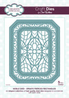 Craft Dies by Sue Wilson - Noble Collection - Classic Pierced Rectangles (CED5502)