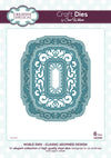 Craft Dies by Sue Wilson - Noble Collection - Classic Adorned Design (CED5505)
