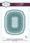 Craft Dies by Sue Wilson - Noble Collection - Ornate Pierced Design (CED5507)