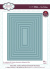 Craft Dies by Sue Wilson - Noble Collection - Double Pierced Background Rectangle (CED5512)