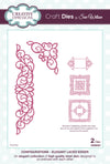 Craft Dies by Sue Wilson - Configurations Collection - Elegant Lace Edger (CED6401)