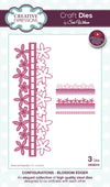 Craft Dies by Sue Wilson - Configurations Collection - Blossom Edger (CED6410)