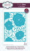 Craft Dies by Sue Wilson - Background Collection - Mini Background - Pierced Roses (CED7102)