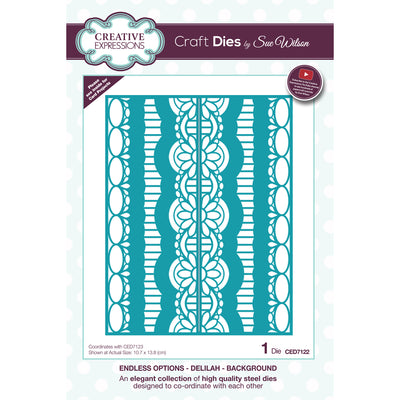 Sue Wilson Dies - Endless Options - Delilah - Background - CED7122