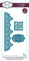 Craft Dies by Sue Wilson - Australian Collection - Corner; Border & Tag (CED8102)