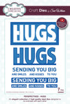 Craft Dies by Sue Wilson - Perspectives Collection - Hugs (CED8307)