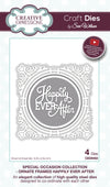 Craft Dies by Sue Wilson - Special Occasion - Ornate Framed Happy Ever After (CED9402)