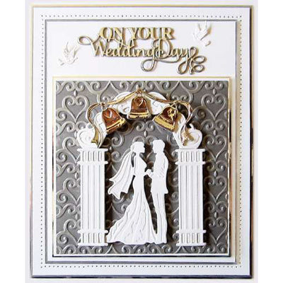 Sue Wilson Dies - Special Occasions Collection Wedding Bell Border - CED9407