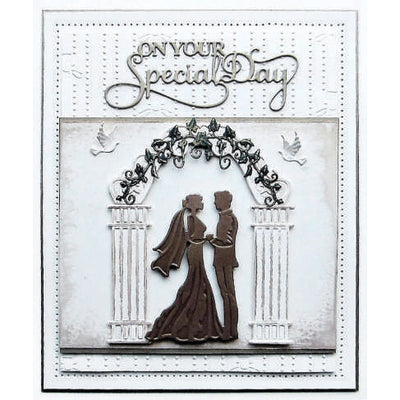 Sue Wilson Dies - Special Occasions Collection Wedding Couple - CED9406