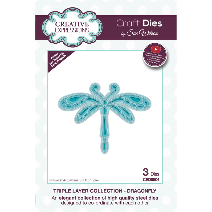 Sue Wilson Dies - Triple Layer Collection - Dragonfly - CED9504
