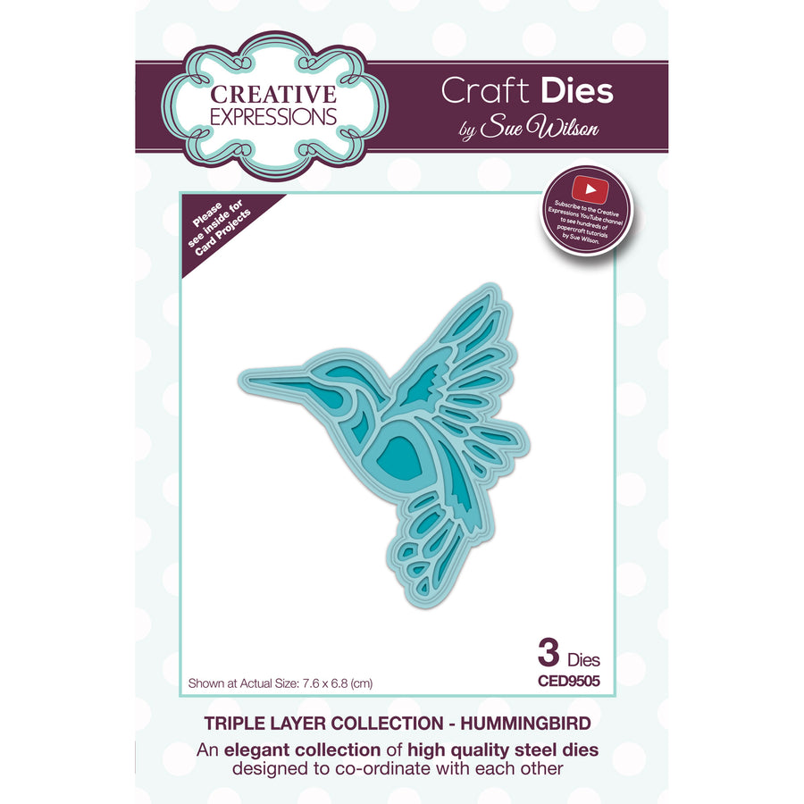 Sue Wilson Dies - Triple Layer Collection - Hummingbird - CED9505