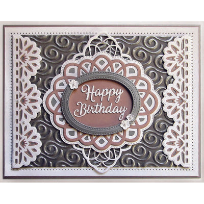 Sue Wilson Dies - Triple Layer Collection Charlene Border - CED9514
