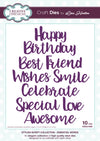 Lisa Horton - Stylish Script Collection Essential Words Craft Die - CEDLH1020