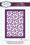 Lisa Horton - Background Collection Daisy Mosaic Craft Die - CEDLH1024