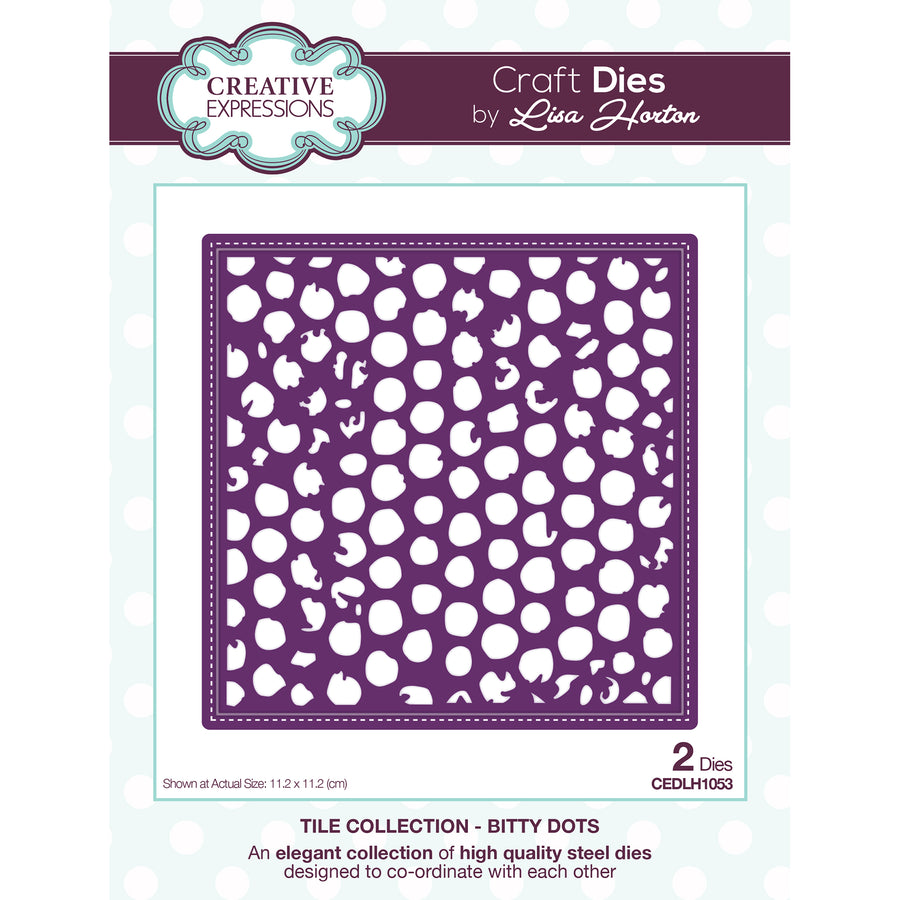 Lisa Horton Dies - Stitched Collection Bitty Dots - CEDLH1053
