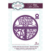 Lisa Horton Dies - Split Circles - Winter Wishes Craft Die - CEDLH1077