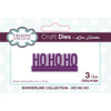 Lisa Horton Dies - Borderline - Ho Ho Ho Craft Die - CEDLH1084