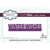 Lisa Horton Dies - Borderline - Winter Wishes Craft Die - CEDLH1087