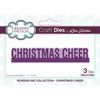 Lisa Horton Dies - Borderline - Christmas Cheer Craft Die - CEDLH1088