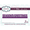 Lisa Horton Dies - Borderline - Seasons Greetings Craft Die - CEDLH1089