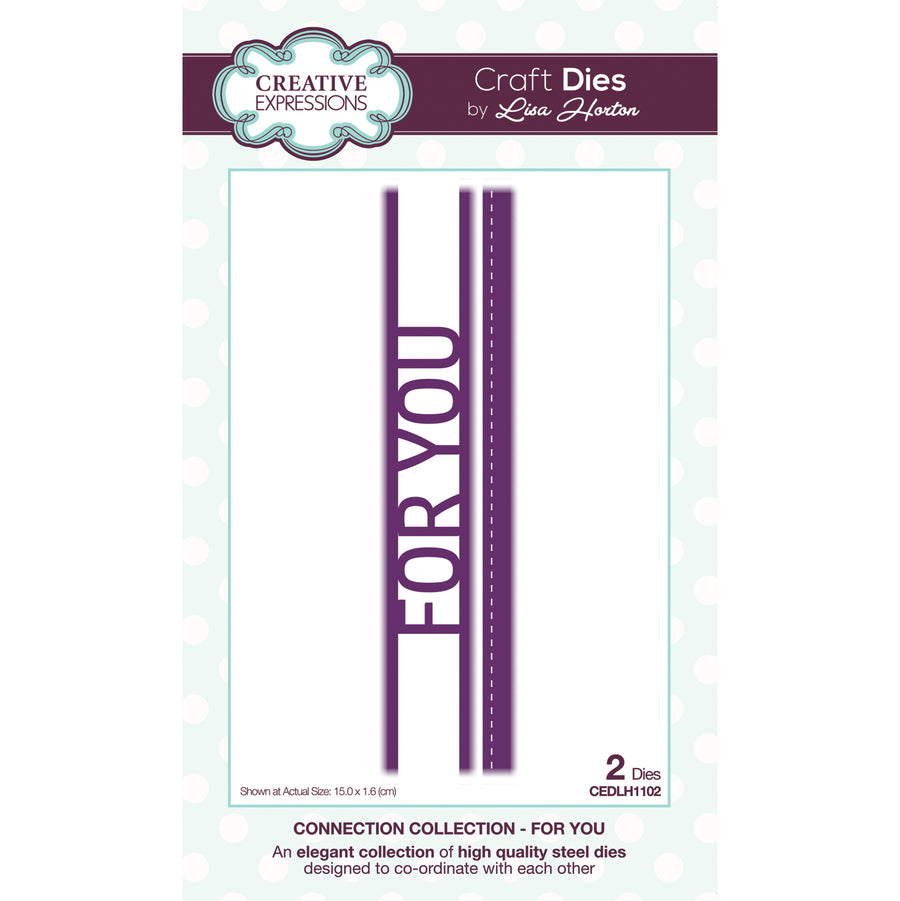 Lisa Horton - Connection Collection For You Craft Die - CEDLH1102