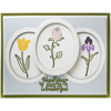 Sue Wilson Dies - Finishing Touches Collection - Elegant Flower Trio - CED1525