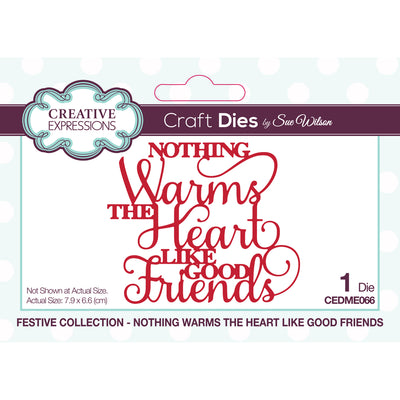 Sue Wilson Dies - Festive Collection - Nothing Warms The Heart Like Good Friends - CEDME066