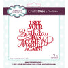 Sue Wilson Dies - Mini Expressions - I See Your Birthday Has Come Around Again - CEDME068