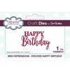 Sue Wilson Dies by Creative Expressions - Mini Expressions - Stacked Happy Birthday - CEDME074