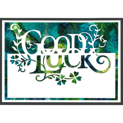 Paper Cuts Dies - Good Luck Edger - CEDPC1070