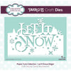 Paper Cuts Festive Edger Die - Let It Snow - CEDPC1084