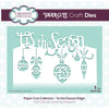 Paper Cuts Festive Edger Die - 'tis the Season  - CEDPC1088