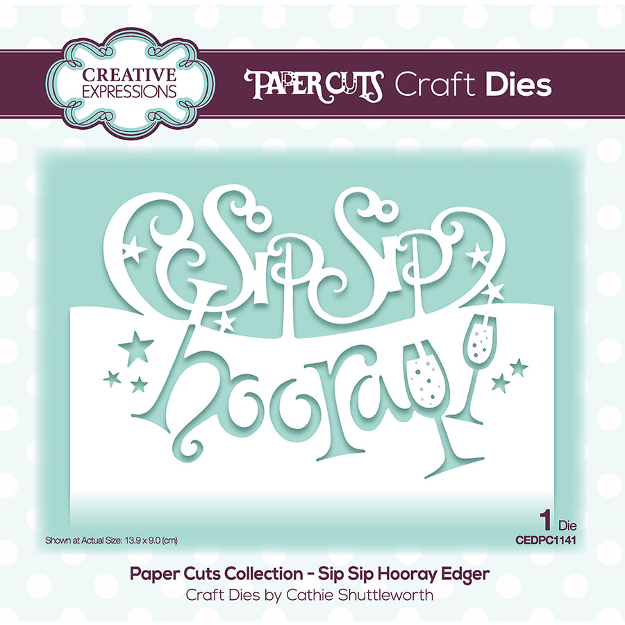 Paper Cuts Edger Die - Bundle Of 6 - CEDPC1141-6